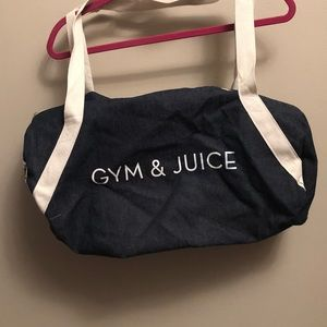 Gym and Juice Small Duffle Bag